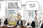 Chip Bok  Chip Bok's Editorial Cartoons 2011-01-31 Clinton administration