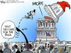 Chip Bok  Chip Bok's Editorial Cartoons 2013-01-04 wealth