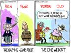 Chip Bok  Chip Bok's Editorial Cartoons 2013-11-18 wealth