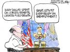 Chip Bok  Chip Bok's Editorial Cartoons 2013-12-13 dollar