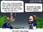 Chip Bok  Chip Bok's Editorial Cartoons 2014-03-12 wealth