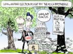 Chip Bok  Chip Bok's Editorial Cartoons 2014-06-12 2014 election