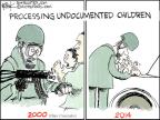 Chip Bok  Chip Bok's Editorial Cartoons 2014-07-03 undocumented