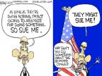 Chip Bok  Chip Bok's Editorial Cartoons 2014-07-12 presidential administration
