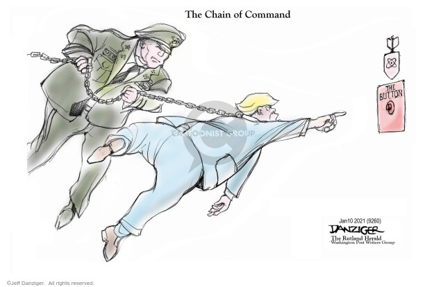 The Chain of Command. The button. US.