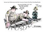 Jeff Danziger  Jeff Danziger's Editorial Cartoons 2010-07-28 Arizona immigration