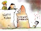 Gustavo Rodriguez  Garrincha's Editorial Cartoons 2012-04-12 North Korea