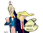 Gustavo Rodriguez  Garrincha's Editorial Cartoons 2018-10-04 Donald Trump taxes