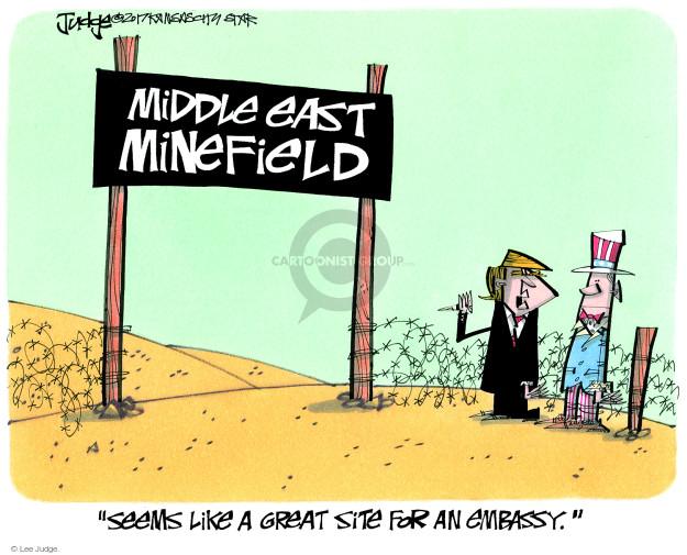 Lee Judge's Editorial Cartoons - Politics Editorial Cartoons