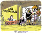 Lee Judge  Lee Judge's Editorial Cartoons 2017-04-07 taxation