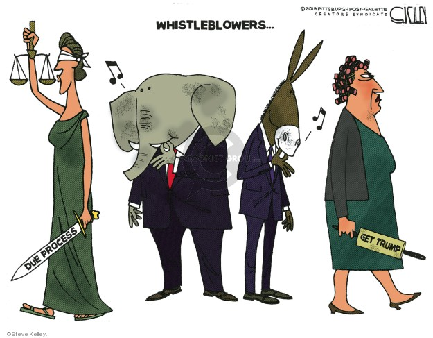 Whistleblowers � Due Process. Get Trump.
