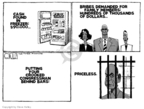 Steve Kelley  Steve Kelley's Editorial Cartoons 2009-08-06 political ethics