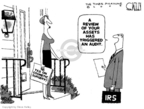 Steve Kelley  Steve Kelley's Editorial Cartoons 2009-11-25 IRS
