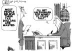 Steve Kelley  Steve Kelley's Editorial Cartoons 2010-04-16 pork-barrel