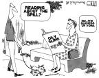 Steve Kelley  Steve Kelley's Editorial Cartoons 2010-05-25 political ethics