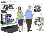 Steve Kelley  Steve Kelley's Editorial Cartoons 2012-03-11 election debate