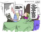 Steve Kelley  Steve Kelley's Editorial Cartoons 2012-08-24 KKK