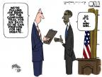 Steve Kelley  Steve Kelley's Editorial Cartoons 2012-10-08 election debate
