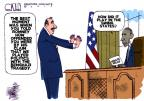 Steve Kelley  Steve Kelley's Editorial Cartoons 2012-10-18 election debate