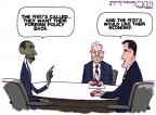 Steve Kelley  Steve Kelley's Editorial Cartoons 2012-10-24 election debate