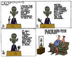 Steve Kelley  Steve Kelley's Editorial Cartoons 2014-09-11 war on terror