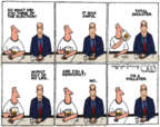Steve Kelley  Steve Kelley's Editorial Cartoons 2016-11-11 party loyalty