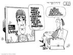 Steve Kelley  Steve Kelley's Editorial Cartoons 2005-10-14 political ethics