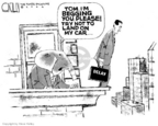 Steve Kelley  Steve Kelley's Editorial Cartoons 2006-04-06 political ethics