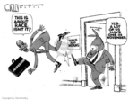 Steve Kelley  Steve Kelley's Editorial Cartoons 2006-06-19 political ethics