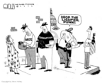 Steve Kelley  Steve Kelley's Editorial Cartoons 2006-06-22 political ethics
