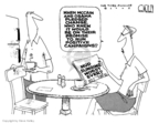 Steve Kelley  Steve Kelley's Editorial Cartoons 2008-10-08 2008 debate