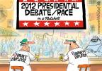 Mike Lester  Mike Lester's Editorial Cartoons 2012-10-03 2012 debate