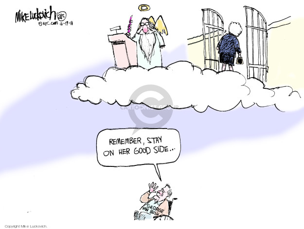 The Barbara Bush Editorial Cartoons The Editorial Cartoons
