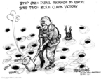 Mike Luckovich  Mike Luckovich's Editorial Cartoons 2009-01-11 Israel