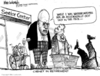 Mike Luckovich  Mike Luckovich's Editorial Cartoons 2009-01-14 accident