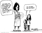 Mike Luckovich  Mike Luckovich's Editorial Cartoons 2009-03-29 Michelle Obama
