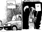 Mike Luckovich  Mike Luckovich's Editorial Cartoons 2009-07-22 accident