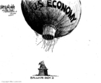 Mike Luckovich  Mike Luckovich's Editorial Cartoons 2009-10-30 balloon