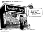 Mike Luckovich  Mike Luckovich's Editorial Cartoons 2009-11-03 policy