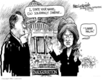 Mike Luckovich  Mike Luckovich's Editorial Cartoons 2010-02-10 Sarah Palin