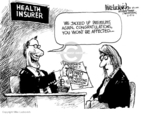 Mike Luckovich  Mike Luckovich's Editorial Cartoons 2010-02-19 medical insurance