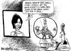 Mike Luckovich  Mike Luckovich's Editorial Cartoons 2011-02-09 Michelle Obama