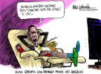 Mike Luckovich  Mike Luckovich's Editorial Cartoons 2011-05-01 Michelle Obama