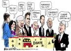 Mike Luckovich  Mike Luckovich's Editorial Cartoons 2011-06-15 2012 election economy