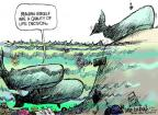 Mike Luckovich  Mike Luckovich's Editorial Cartoons 2011-06-26 climate change