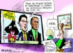 Mike Luckovich  Mike Luckovich's Editorial Cartoons 2011-08-12 crisis