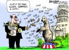 Mike Luckovich  Mike Luckovich's Editorial Cartoons 2011-09-22 climate change hoax