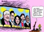Mike Luckovich  Mike Luckovich's Editorial Cartoons 2011-09-28 2012 debate