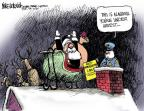 Mike Luckovich  Mike Luckovich's Editorial Cartoons 2011-12-02 Santa Claus