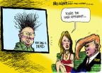 Mike Luckovich  Mike Luckovich's Editorial Cartoons 2011-12-20 Melania